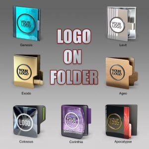 Logo on Folder