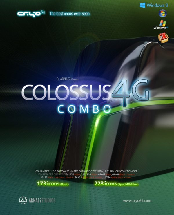 Combo Colossus 4G