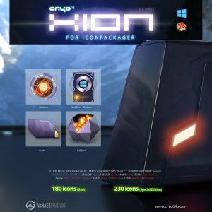 Xion - Icon Theme Windows