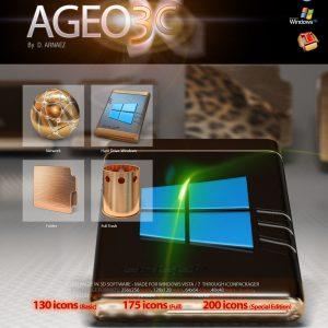 Ageo 3G - Icon Theme Windows