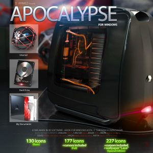 Apocalypse - Icon theme Windows