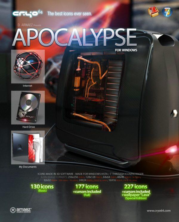 Apocalypse - Icon theme Windows