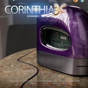 Corinthia 3G - Icon Theme Windows