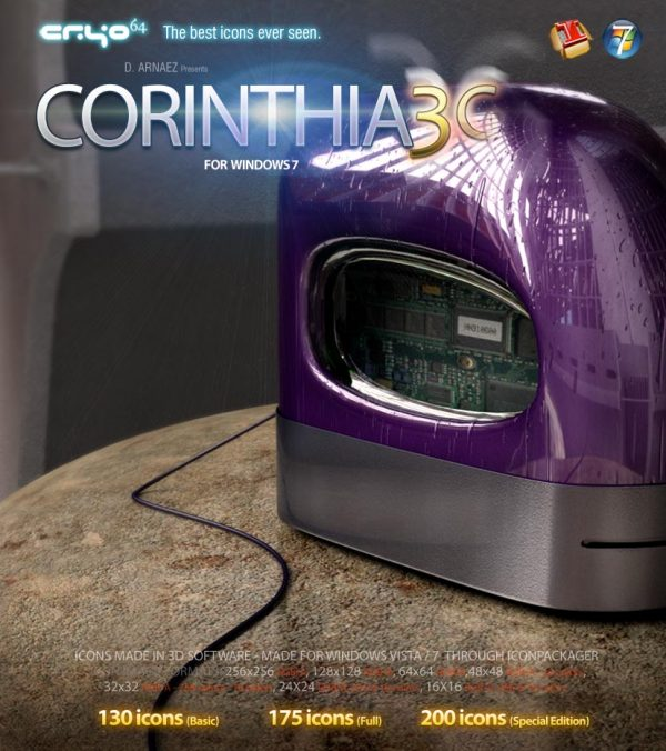 Corinthia 3G - Icon Theme Windows