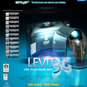 Levit 3G - Icon Theme Windows XP